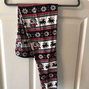 LA12st Plus Size Santa Leggings worn once ♥️